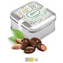 Миндаль в шоколаде, 110 г (в жестяной банке)
