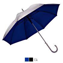 Зонт с алюминиевой ручкой «Unit Silver», полуавтомат