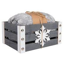 Плед новогодний «Gift» в подарочной коробке