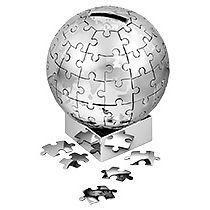 Копилка-пазл «Земной шар»