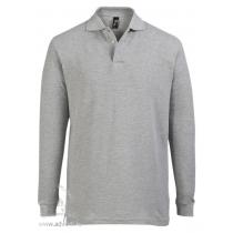 Рубашка поло с длинным рукавом  «Star 170», мужская