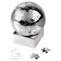 Головоломка-пазл «Земной шар» на магните