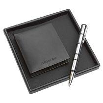 Набор: портмоне, ручка роллер