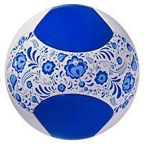 Мяч футбольный «Гжель»