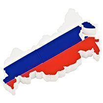 USB-флешка в форме карты России