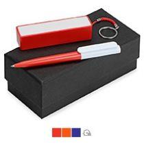 Подарочный набор «Essentials Umbo» с ручкой и зарядным устройством