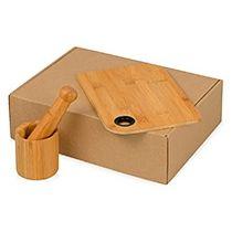 Подарочный набор «Chef» с кухонными аксессуарами из бамбука