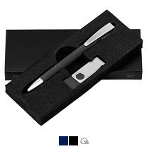Набор ручка «Cobra Softgrip» + флеш-карта «Twistasoftgrip» Klio Eterna