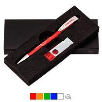 Набор ручка «Jona» + флеш-карта «Twista» 8Гб Klio Eterna