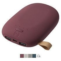 Аккумулятор с беспроводной зарядкой «Pebble Wireless» 9000 mAh