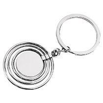 Брелок «Кольца» с вращающимися кольцами и диском