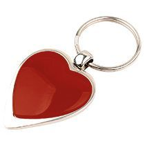 Брелок «Heart» красный