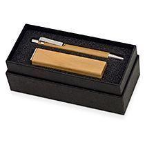 Подарочный набор «Bali village» с ручкой и зарядным устройством