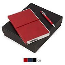 Подарочный набор «Silver Sway» с ручкой и блокнотом А5