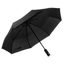 Зонт складной «Preston» с ручкой-фонариком, полуавтомат