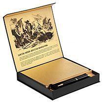 Набор «Goldhunters», блокнот с ручкой