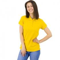 Рубашка поло Rock Lady, женская, желтая