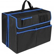 Органайзер в багажник автомобиля Carmeleon, черный с синим