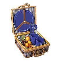 Пикник-сет «Компакт» на 4 персоны с пластиковой посудой
