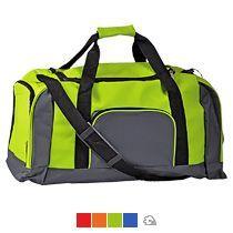 Дорожная сумка с одним отделением и тремя карманами