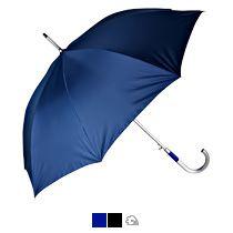Зонт-трость «Дождь» с алюминиевой ручкой, полуавтомат