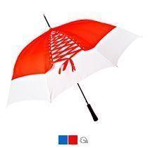 Зонт-трость «Wild paint» со шнуровкой, полуавтомат