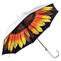 Зонт-трость «Подсолнух» двухслойный, полуавтомат