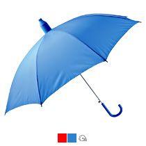 Зонт-трость в телескопическом футляре, полуавтомат