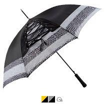 Зонт-трость «Канкан» со шнуровкой, полуавтомат