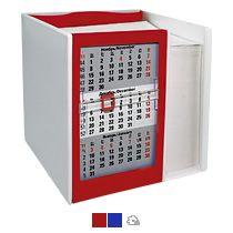 Настольный кубарик с календарем на 2 года
