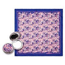 Набор: зеркало, платок шелковый
