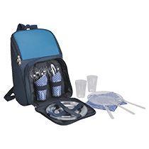Набор для пикника в рюкзаке «Поход»