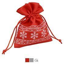 Мешочек новогодний «Снежинки», маленький