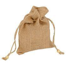 Мешочек подарочный из джута