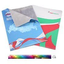 Папка уголок из экокожи А4 с полноцветной печатью