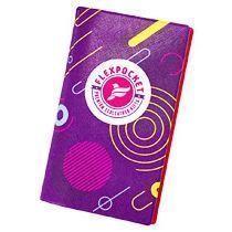 Блокнот-планшет с обложкой А6 с полноцветной печатью