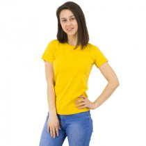 Футболка Star Lady, женская, желтая