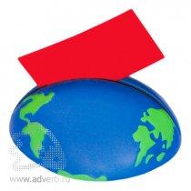 Антистрессболл-держатель записок «Земной шар»