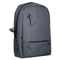 Рюкзак «Migliores» Portobello с USB разъемом, серый