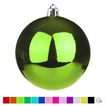 Пластиковый елочный шар, 80 мм