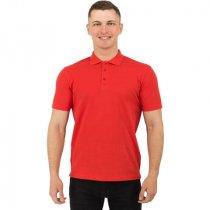 Рубашка поло Rock, мужская, красная