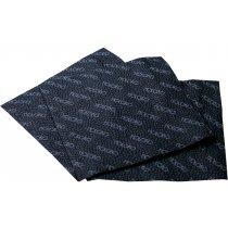 Салфетки бумажные однослойные, чёрные
