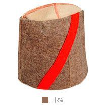 Шляпа для бани подарочная «Папаха»
