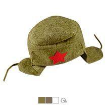 Шляпа для бани подарочная «Шапка-Ушанка»