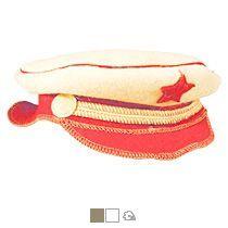 Шляпа для бани подарочная «Офицер»