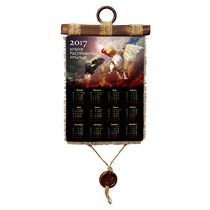 Свиток — календарь «Время расправлять крылья» на 2017 год, вертикальный