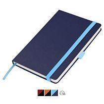 Ежедневник «Chameleon», синий, гравировка голубая