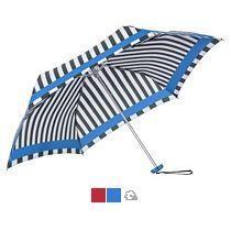 Зонт складной «R Pattern» в полоску, механический, 3 сложения