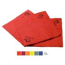 Салфетки бумажные однослойные, цветные