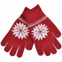Перчатки для сенсорных экранов «Снежинка»